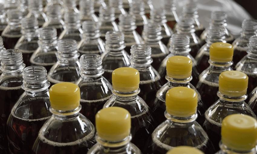 Symboly na plastových fľašiach